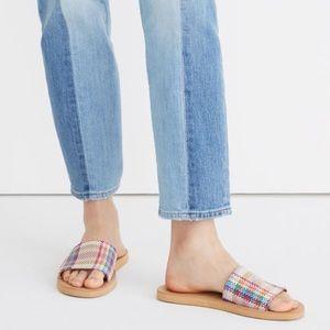 NEW Madewell Maddie Slide Sandal Dandelion Multi